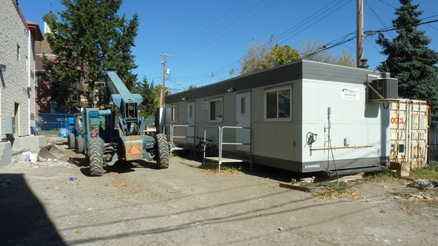 September 28, 2011 - The VCM trailer is moved off site